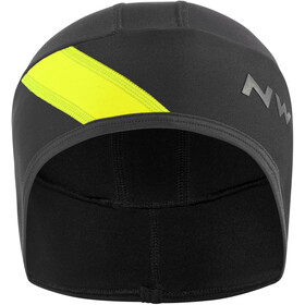 Northwave Fahrenheit Päähine, black/yellowfluo